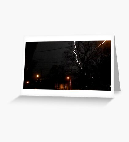 Storm 002 Greeting Card