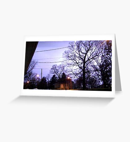 Storm 003 Greeting Card
