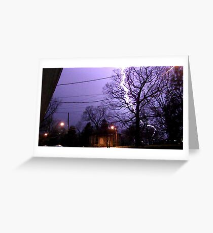 Storm 004 Greeting Card