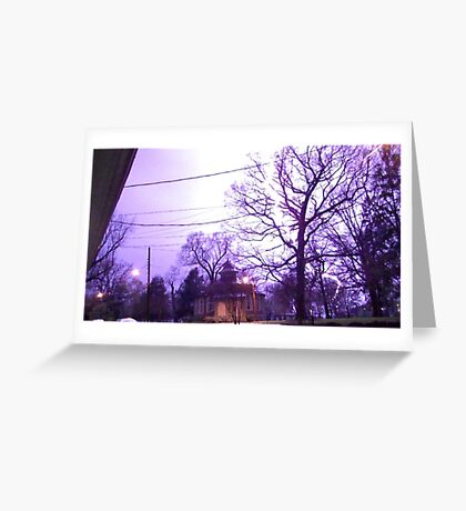 Storm 005 Greeting Card