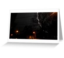 Storm 007 Greeting Card