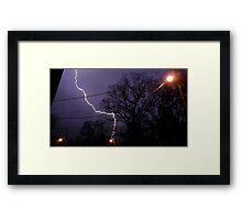 Storm 009 Framed Print