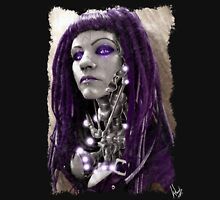 Cybergoth 004 Womens Fitted T-Shirt