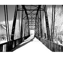 Black Ice Photographic Print