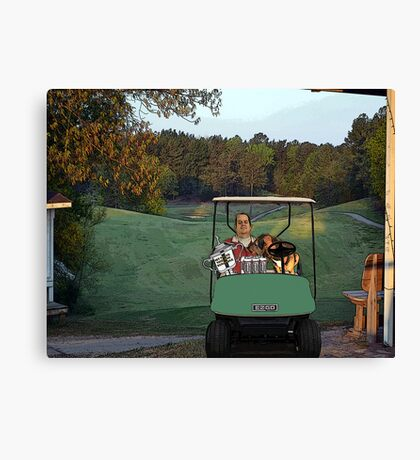 Alpine Bay Golf Club Canvas Print