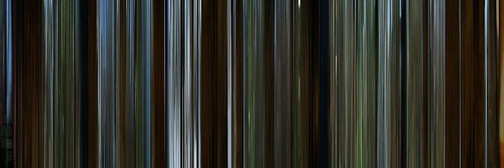 Moviebarcode: Ronja Rövardotter (1984) by moviebarcode