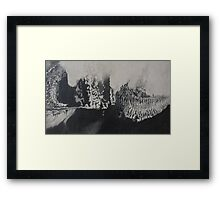 Devil in the Translate Framed Print