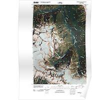 USGS Topo Map Washington State WA Forbidden Peak 20110503 TM Poster