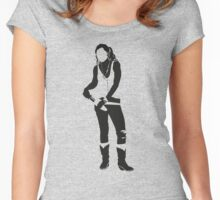 Beth Women's Fitted Scoop T-Shirt