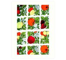 Fifties Fruit Art Print