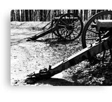 Civil War Cannons, Kennesaw Battlefield, Marietta, Ga. Canvas Print