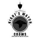 Night's Watch Sports Badge iPhone Case by liquidsouldes