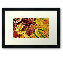 Lush Irises from Kelley's Jardin Framed Print