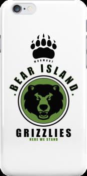 House Mormont Sports Badge iPhone Case by liquidsouldes