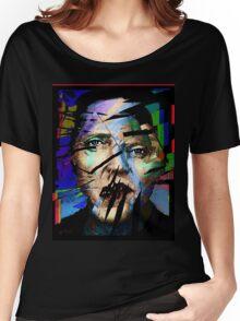 Christopher Walken. Cracked Actor. Women's Relaxed Fit T-Shirt