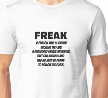 Freek ( T-Shirt & Sticker ) Unisex T-Shirt