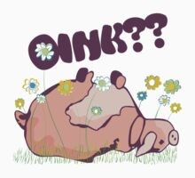Oink?? Baby Tee