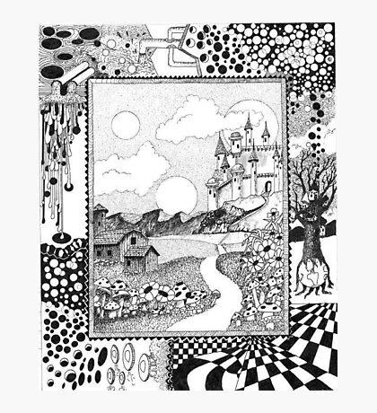 Fantasy Land Surrealism Photographic Print