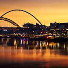 Sunset Time On the Tyne by Great North Views
