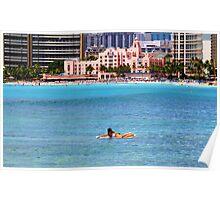 The Royal Hawaiian Hotel  Poster