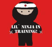Lil`Ninja In Training by CaptainJeff