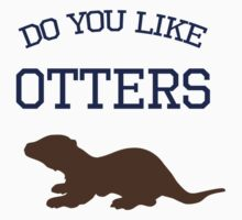 Do you like otters? One Piece - Short Sleeve