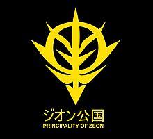 Principality of Zeon Logo in Gundam by kyzson69