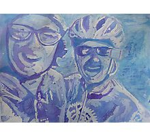 Cycling Buds Photographic Print
