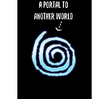 A Portal To Another World T Shirt Photographic Print
