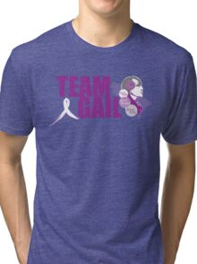 TeamGail: Faith.Hope.Life Tri-blend T-Shirt