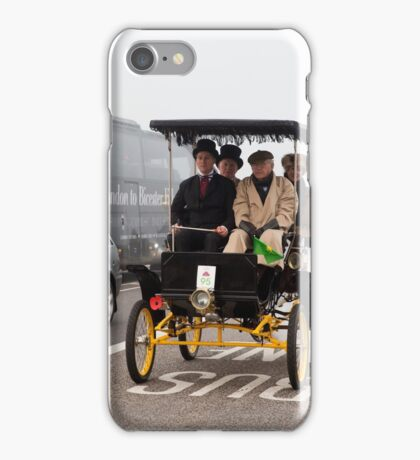London to Brighton Veteran car run 2015 iPhone Case/Skin