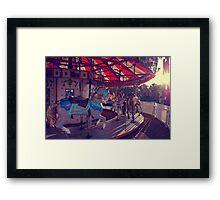 carousel 10 Framed Print