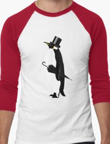 A Well Dressed Villain Men's Baseball ¾ T-Shirt
