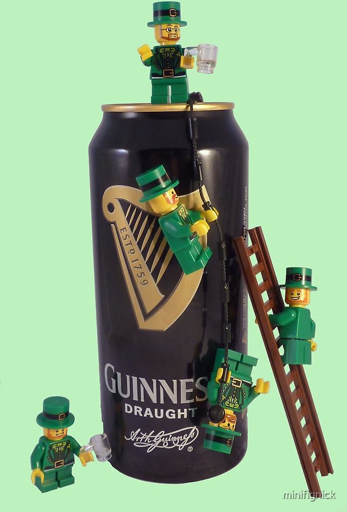 Guinness Makes A St Patricks Day ! by minifignick