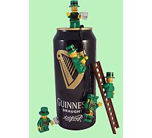 Guinness Makes A St Patricks Day ! Photographic Print
