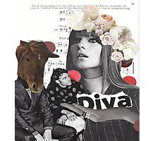 Diva-ttitude Photographic Print