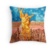 Cupid And Psyche  Throw Pillow