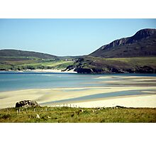 Melness Sands, Sutherland, Scotland Photographic Print