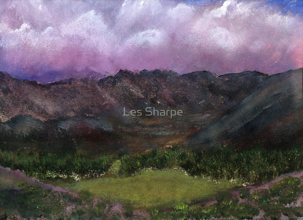 Green Valley by Les Sharpe
