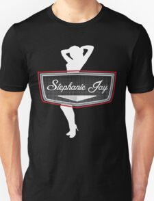 UK Pin Up Stephanie Jay Logo T-Shirt
