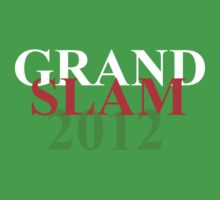 Wales Grand Slam 2012 words One Piece - Short Sleeve