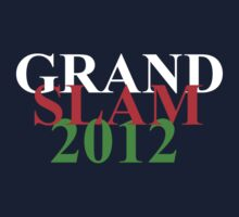 Wales Grand Slam 2012 words Baby Tee