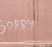 Sorry in Pondicherry by Marjolein Katsma