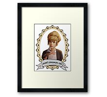 Kate Portrait (Transparent) - Life is Strange Framed Print