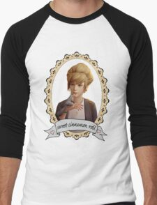 Kate Portrait (Transparent) - Life is Strange Men's Baseball ¾ T-Shirt