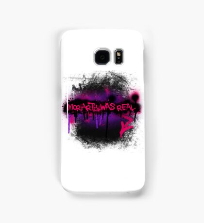 Moriarty was real (orchid) Samsung Galaxy Case/Skin