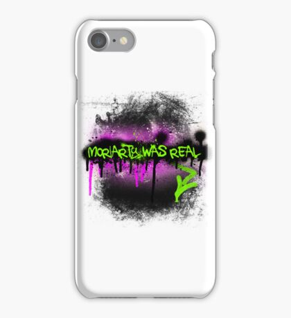 Moriarty was real (madness) iPhone Case/Skin