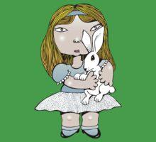 White rabbit Kids Tee