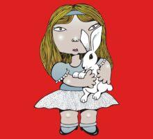 White rabbit One Piece - Long Sleeve