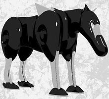 Mech Animal - Dobbie 01  by jhawkinsart